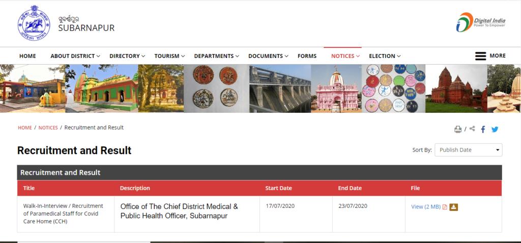 DRDA Odisha Recruitment 2021