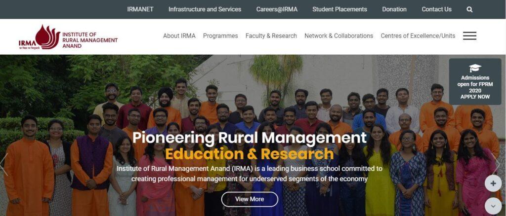 IRMA Research Associate Recruitment 2021